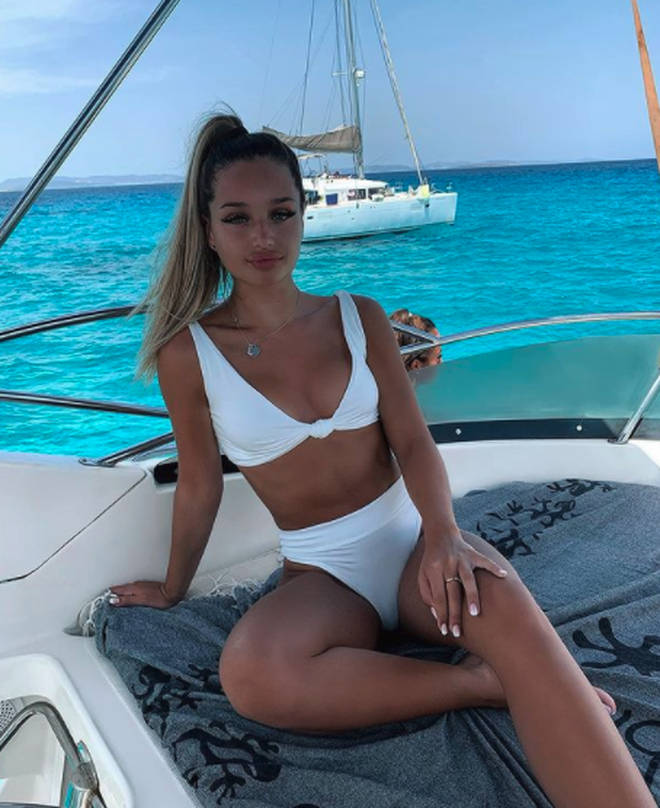 Love Island's Lucinda enjoys luxurious holidays