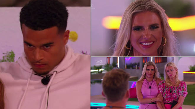 Toby and Chloe were split up on Love Island