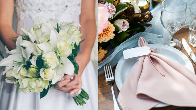 A bride has demanded her guests pay for their wedding meal
