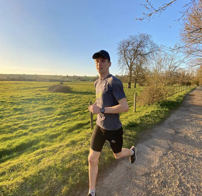 Tom Dell is taking on a running challenge for Global's Make Some Noise