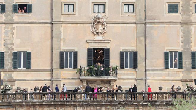 Princess Diana's niece Lady Kitty Spencer married her fiancé in Rome