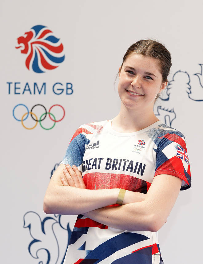 Andrea was just 16 when she was picked for Team GB