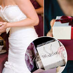 A couple have offered wedding guests better food depending on the price of their gift