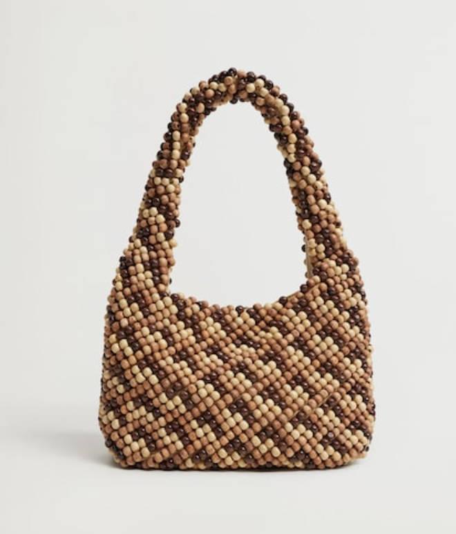 Mango - Beaded mini bag