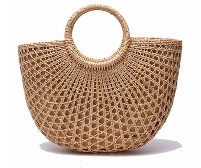 Jollque - Handwoven straw tote