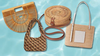The best straw bags for summer 2021