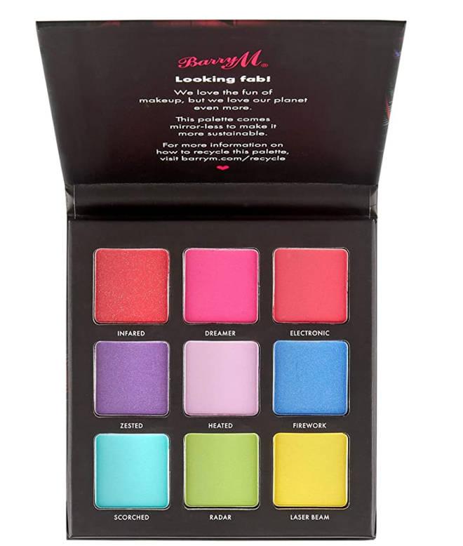 Barry M - Neon Brights Eyeshadow Palette