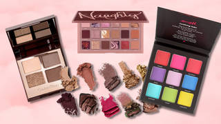 Best eyeshadow palettes for smoky, neutral, glitter and glam makeup looks