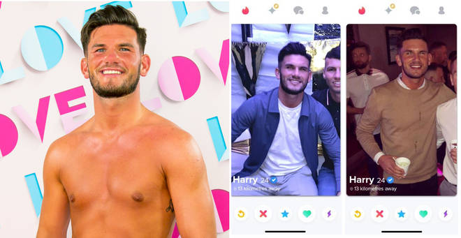 Harry is the first contestant ever to have got on Love Island through Tinder