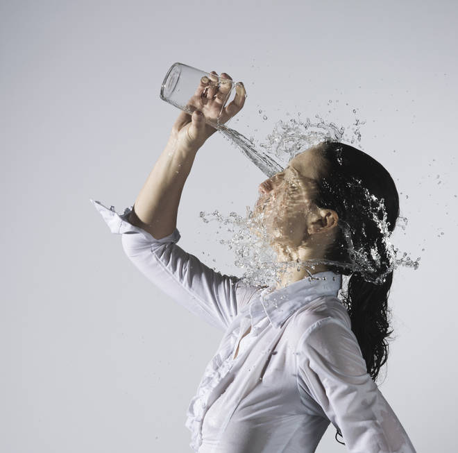 Consuming too much water could be bad for your health