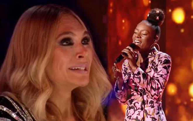 Ayda Field on X Factor