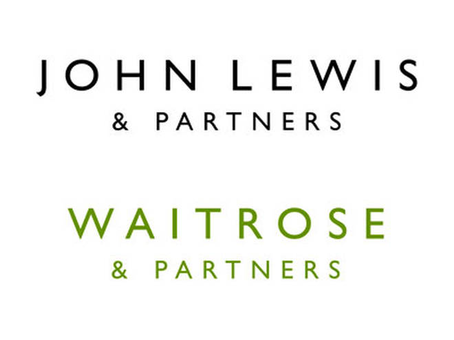 The John Lewis and Waitrose logos
