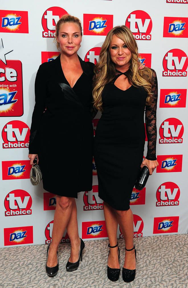 Rita Simons and Samantha Womack left EastEnders in 2017