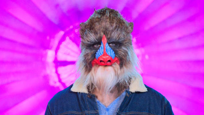 Bennett was disguised as Mandrill for the show