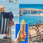 The weather is set to get hot again next month