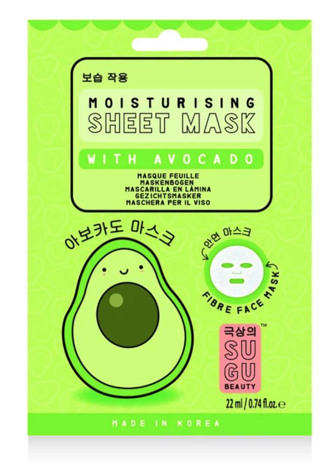 NPW Sugu Moisturising Sheet Mask With Avocado