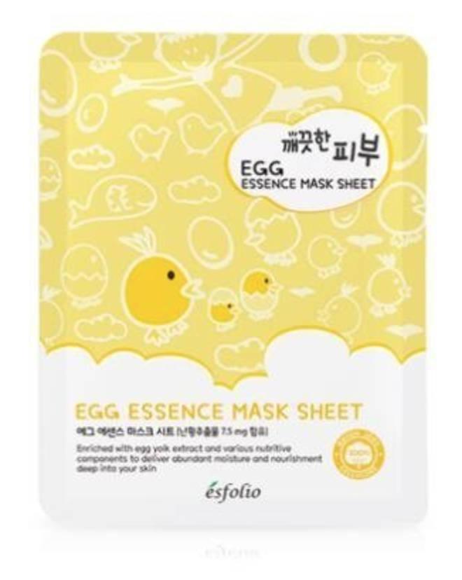 Esfolio - Egg Essence Mask Sheet