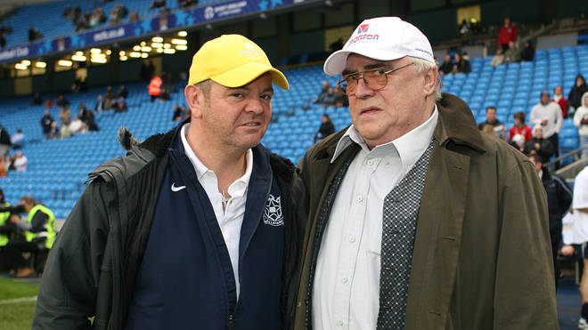 Philip Middlemiss and Bill Tarmey in 2007