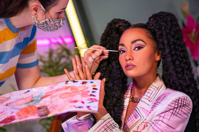 The Little Mix figures were unveiled at Madame Tussauds today