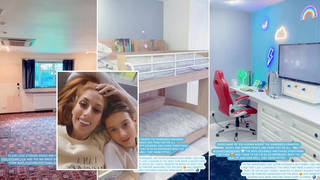 Stacey Solomon has revealed her son's new bedroom