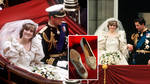 There was a hidden message on Princess Diana's wedding shoes