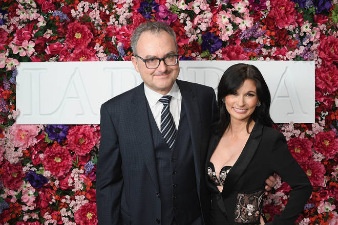 Julia and her husband Silvio Scaglia