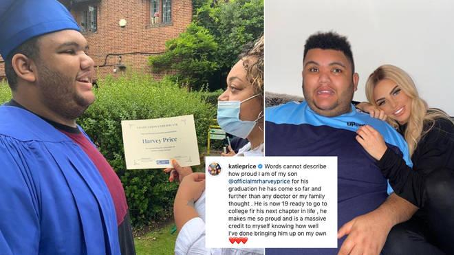 Harvey Price has graduated school