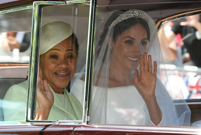 Meghan Markle's mother Doria could be weighed ahead of spending Christmas with the Royal family