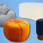 The best pouffes, footstools, ottomans and bean bags for 2021