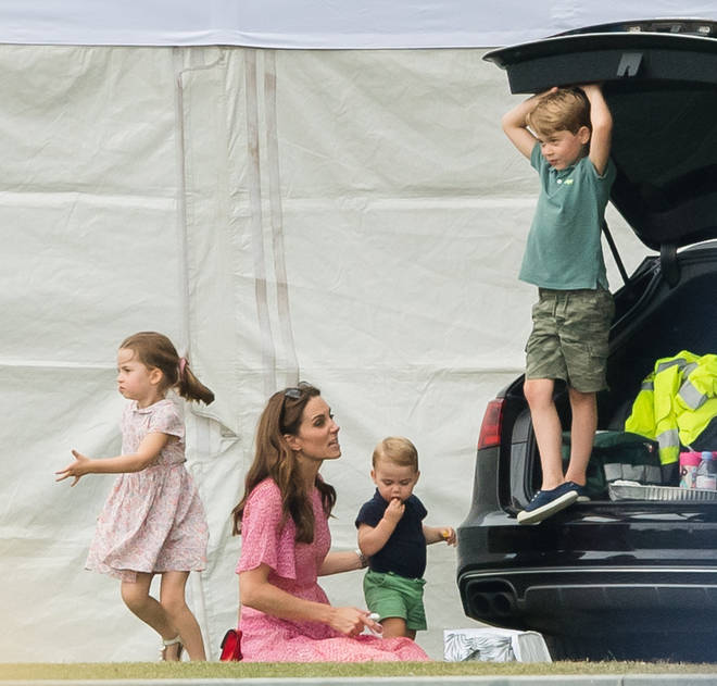 Kate Middleton loves to take her children out for the day