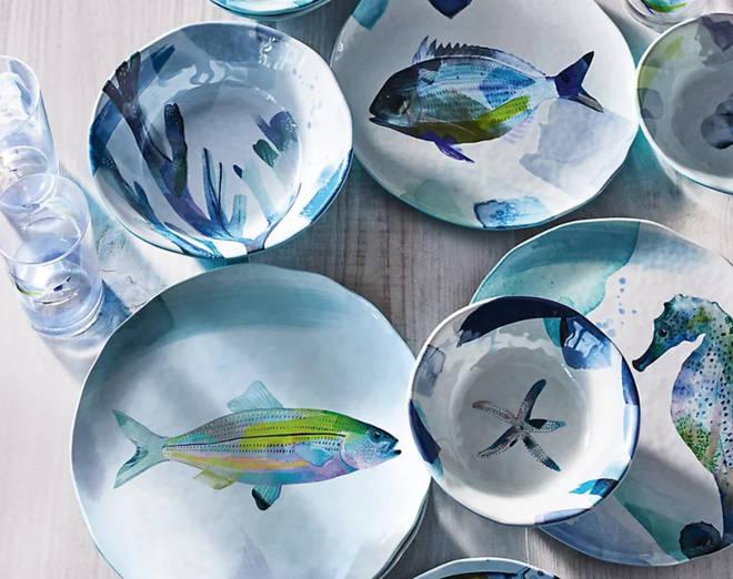 M&S nautical side plates
