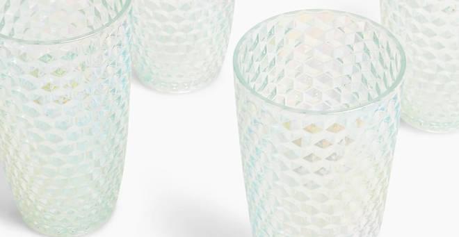 M&S textured lustre hi-balls