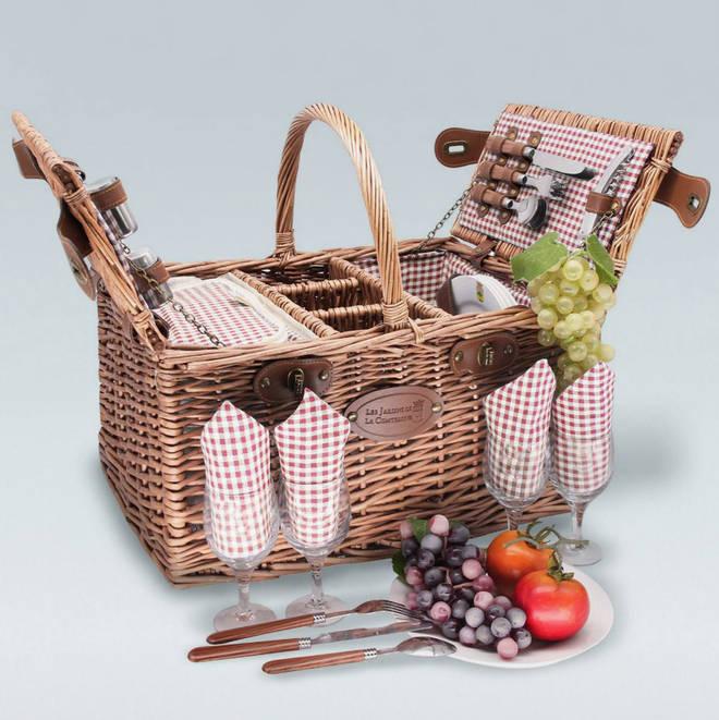 Saint Germain picnic basket