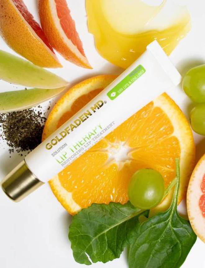 The lip treatment is packed full of antioxidants
