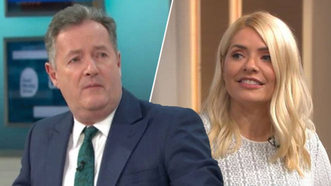 Piers Morgan suggested he teams up with Holly Willoughby