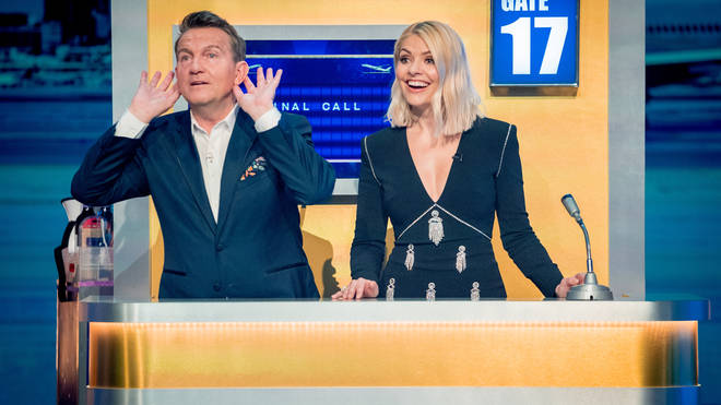 Holly Willoughby and Bradley Walsh are hosting Take Off together