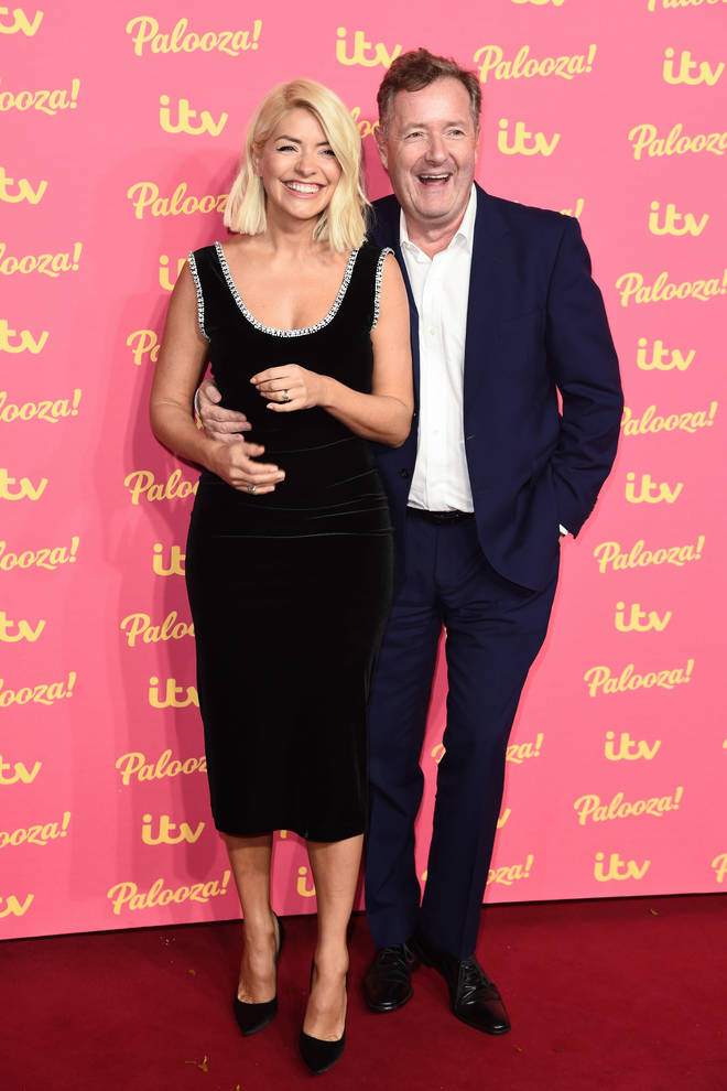 Piers Morgan and Holly Willoughby are good friends