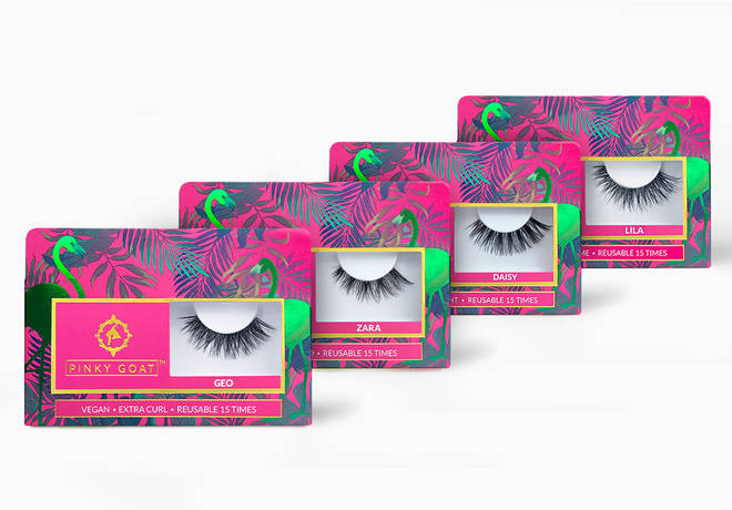 Get your flutter on with these dramatic falsies