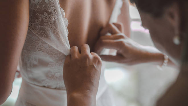 A bride is furious at her husband's mum