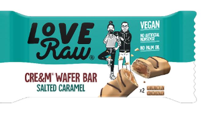 LoveRaw's new Salted Caramel Wafer Bar