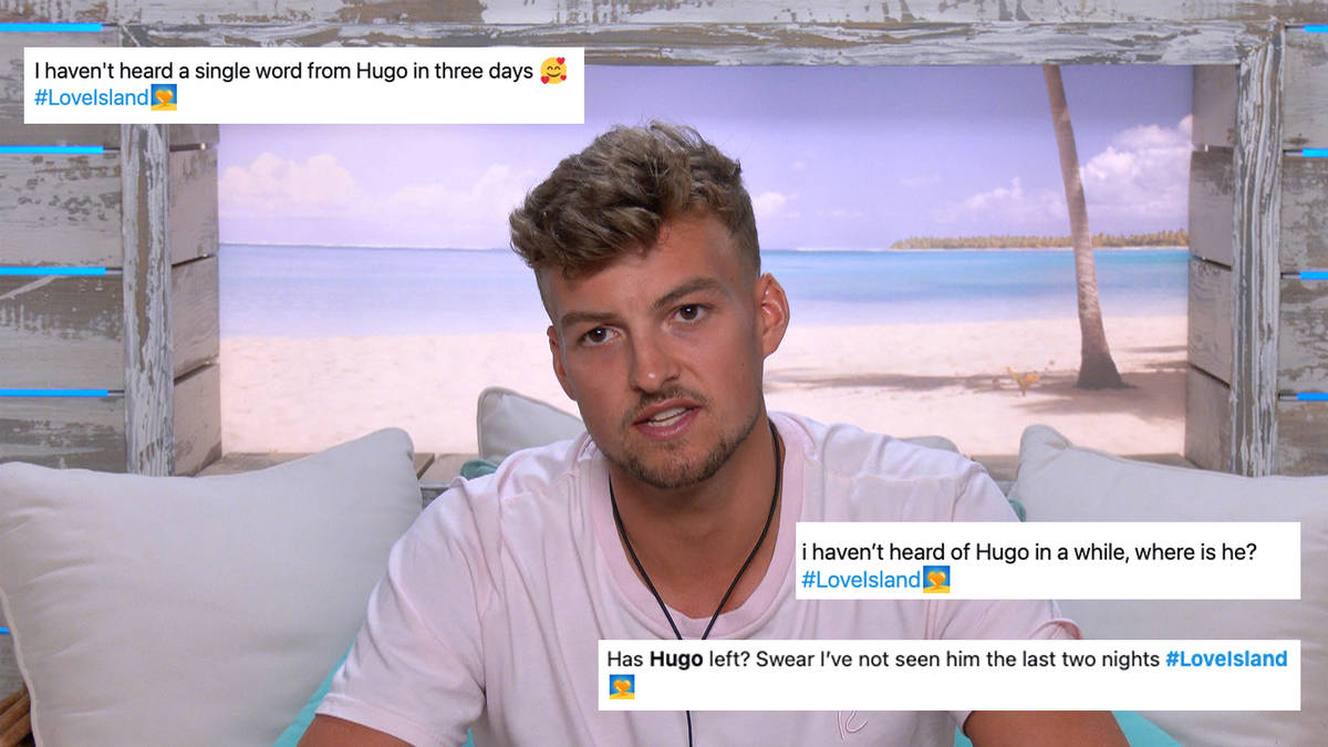 Love Island followers satisfied Hugo Hammond has left the villa