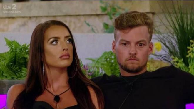 Hugo Hammond and Amy Day are still in the Love Island villa