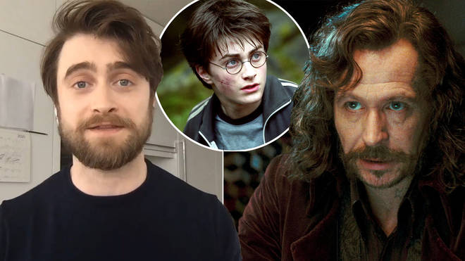 Daniel Radcliffe said he wants to play Sirius Black in a Harry Potter reboot