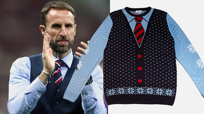 This Gareth Southgate Christmas jumper has football fans going wild