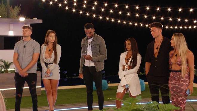 Three couples are at risk of being dumped from Love Island