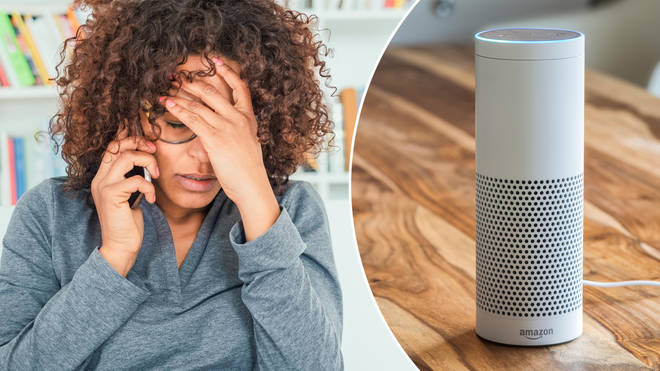 A woman was left fuming about her Amazon Alexa