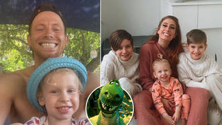 Joe Swash has revealed Rex was named after a Toy Story character