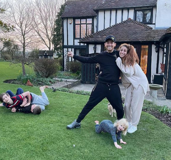 Stacey Solomon and Joe Swash want to get married in their garden