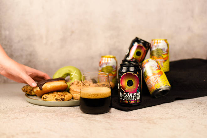 Beavertown's Pastry Stout is inspired by Crosstown's creme brulee doughnuts