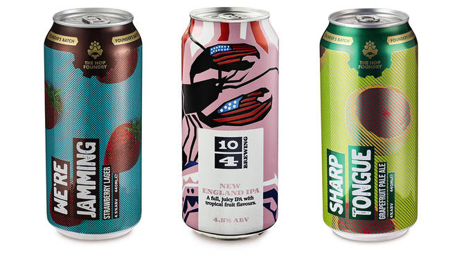 These refreshing beers have a delicious fruity taste